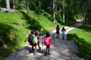 camminata coi bimbi